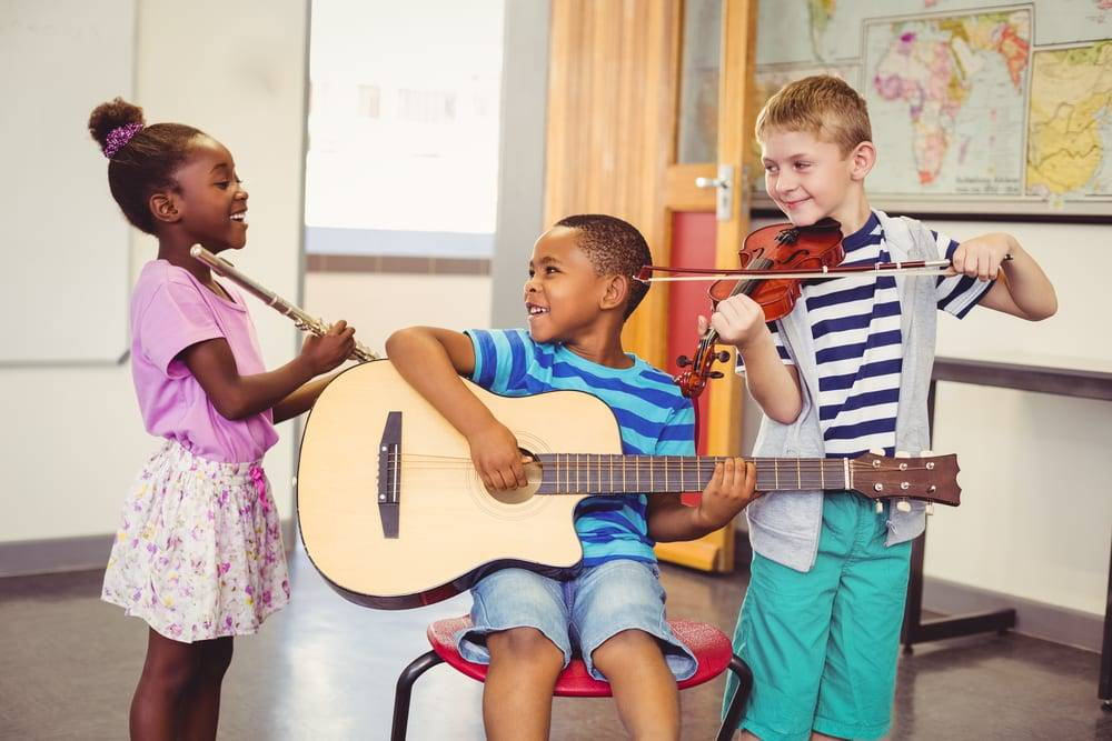 Five Ways to Get Your Young Kids Into Music