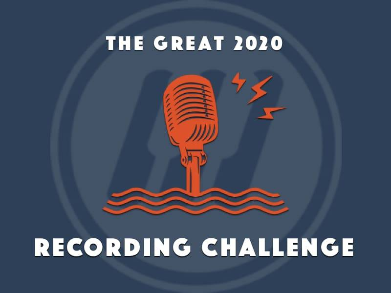 The great 2020 recording challenge website