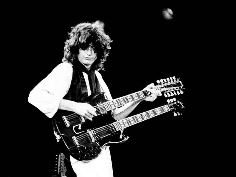 Jimmy page guitar hero