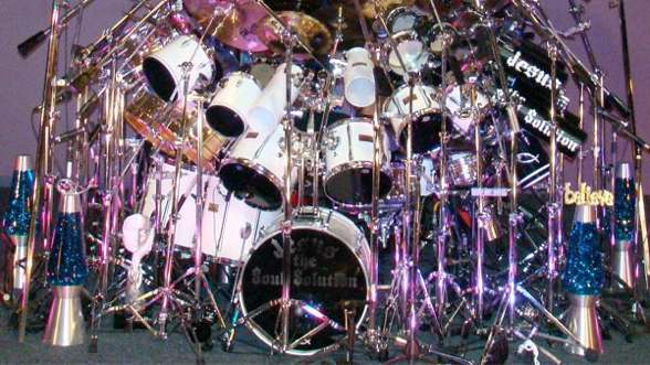 biggest drum set