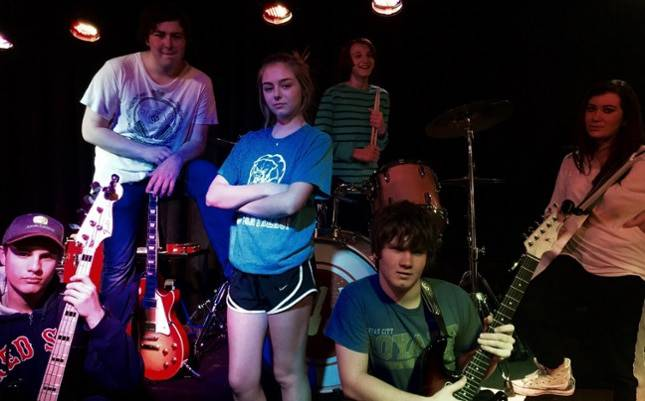 """Chatterbox"" members are: Lauren Brucker, Holden Haby, Jack Johnston, Anna Levine, Hunter Lillian, and Joe Pauli."