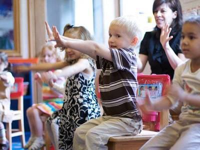 Childrens music class