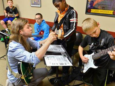 Guitar lessons classes
