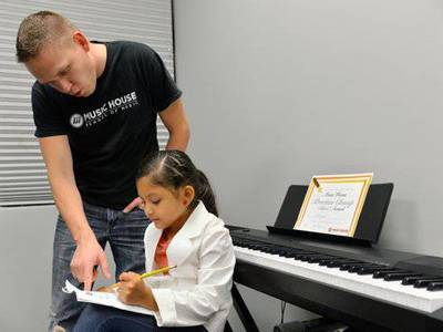 Piano class music house kansas city