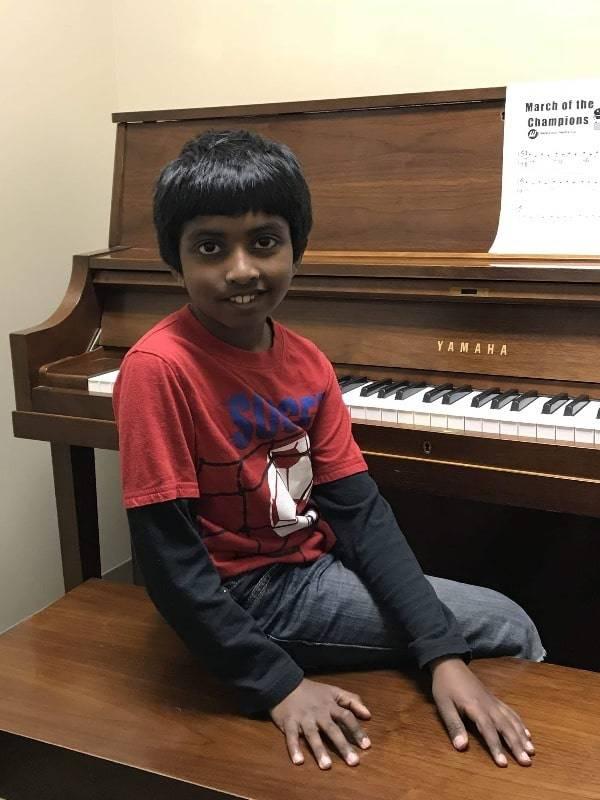 Dharshan Rajesh piano