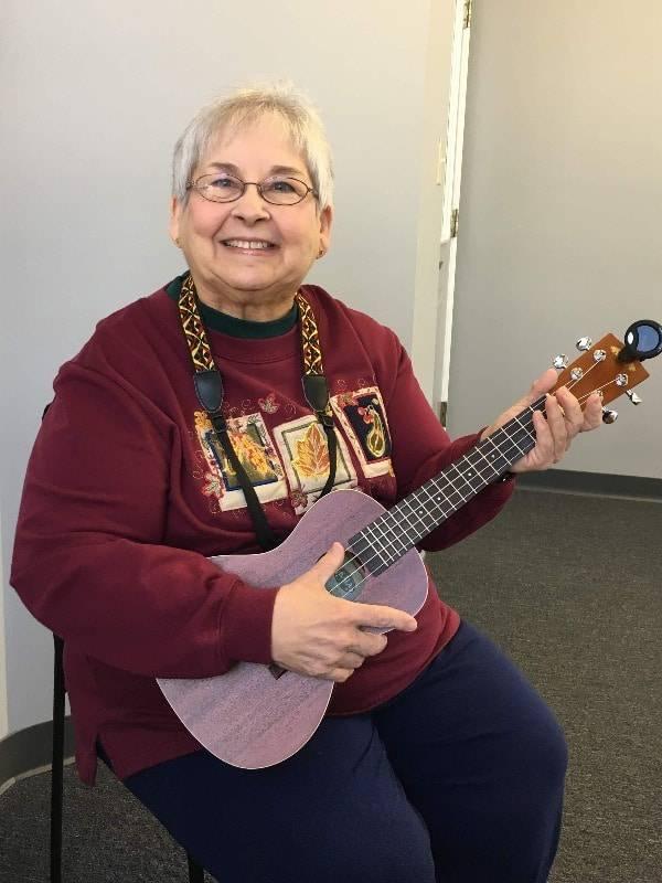 Sandy Baldry ukulele