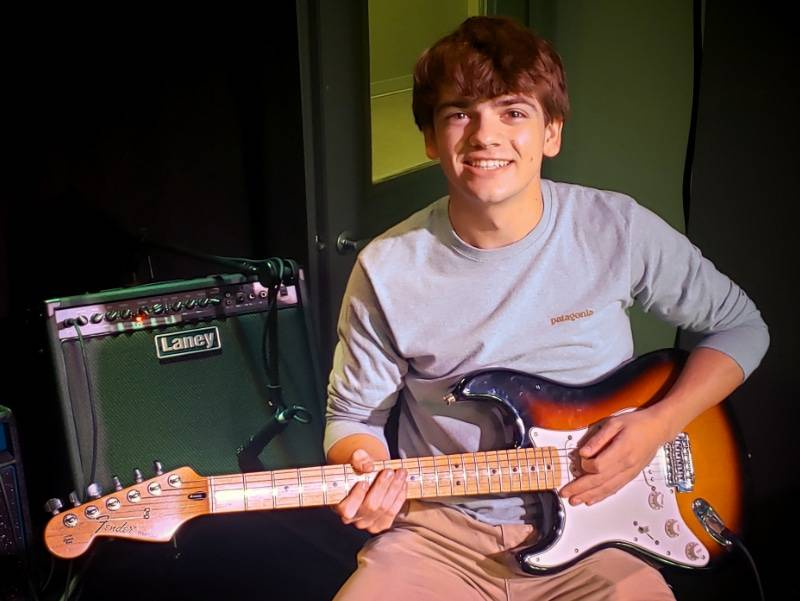 guitar student Tommy Murphy