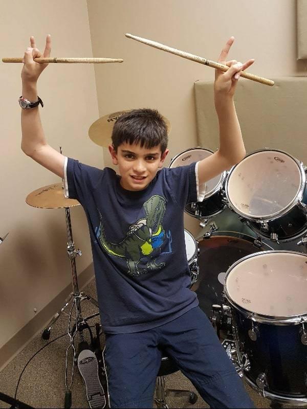 Arun George drums