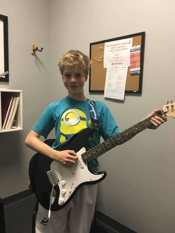 Caden Stipek guitar