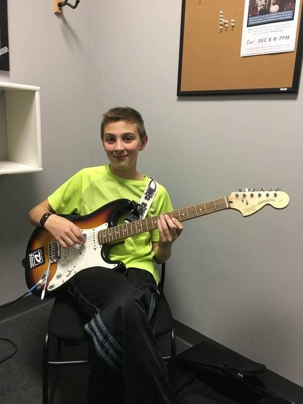Evan Dejmal guitar
