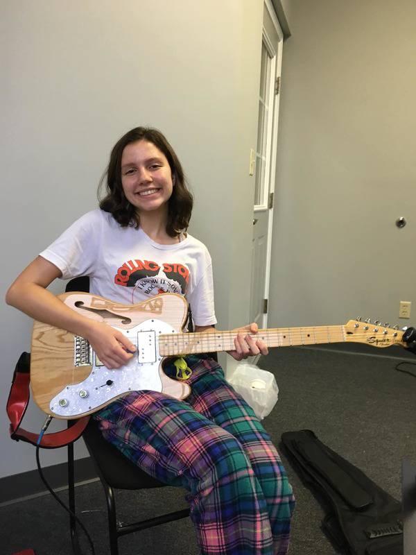 Lauryn VonAhnen guitar