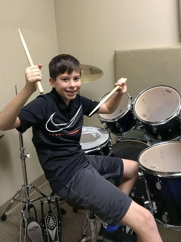 Nathan Perdieu drums