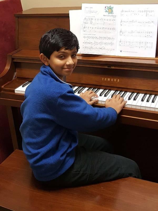 Paritosh Patel piano