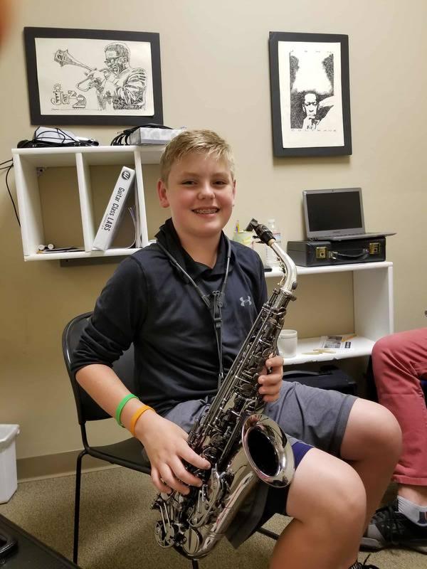 Thomas Palecki saxophone