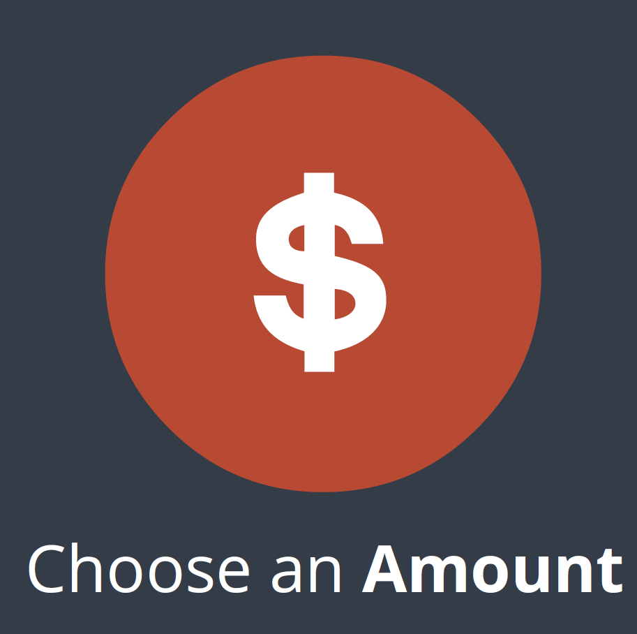 Choose an Amount