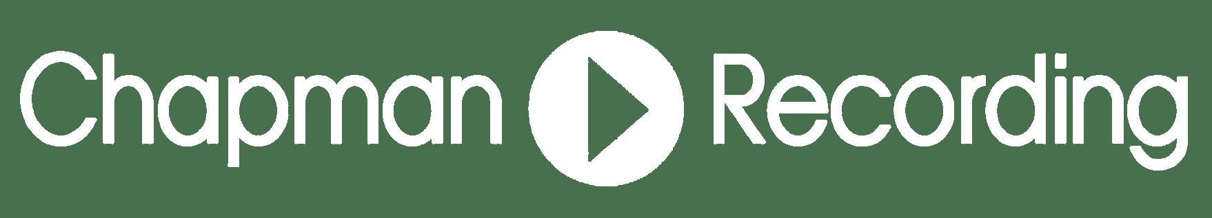 Chapman Recording logo