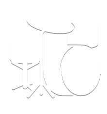 white drumset icon