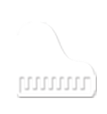 white piano icon